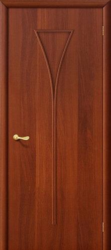 Ламинированная межкомнатная дверь Рюмка ДГ / итальянский орех