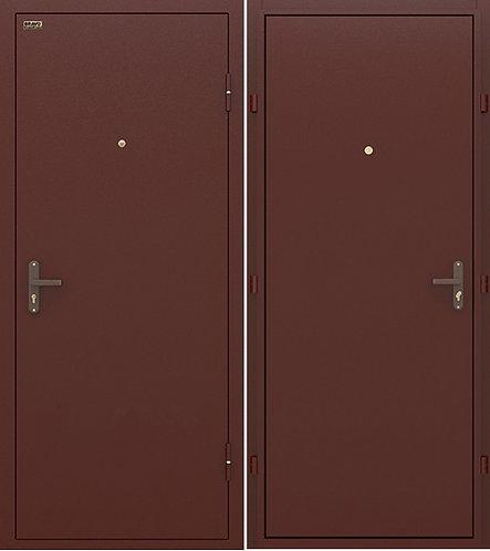 входная дверь КОНСУЛ Лайт (металл/металл)