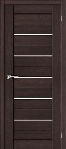 Межкомнатная дверь с покрытием 3D R-22 / 3D Wengе