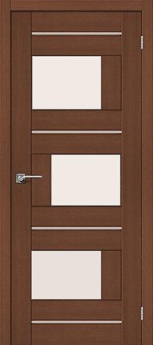 Межкомнатная дверь экошпон ST-3m / орех
