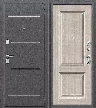 входная дверь Стиль (Антик Серебро/Cappuccino Veralinga)