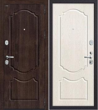 входная дверь Р3-310 Темная Вишня/Беленый Дуб