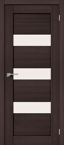 Межкомнатная дверь экошпон ST-8 / Wenge Veralinga