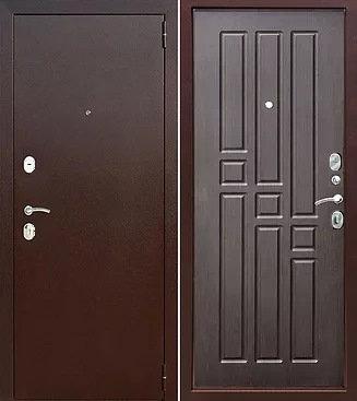 входная дверь Бриз (антик медь/венге)