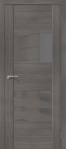 Межкомнатная дверь экошпон VG2 / Grey Veralinga