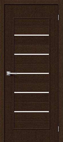 Межкомнатная дверь с покрытием 3D Т-22 / 3D Wengе
