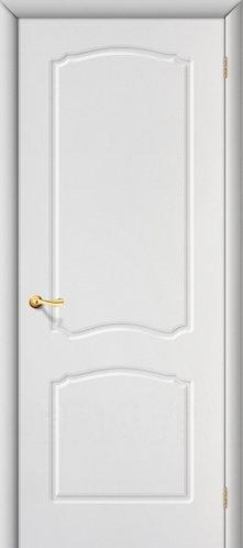Межкомнатная дверь с покрытием ПВХ Альфа ДГ / белый