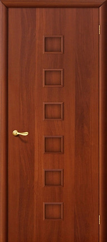 Ламинированная межкомнатная дверь Комфорт ДГ / итальянский орех
