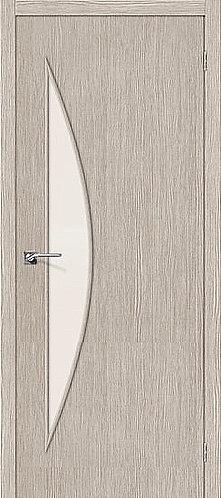 Межкомнатная дверь с покрытием 3D М-6 / 3D Cappuccino