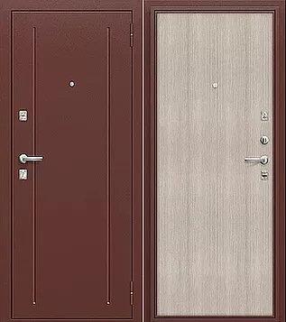 входная дверь Норма (Антик Медь/Cappuccino Veralinga)