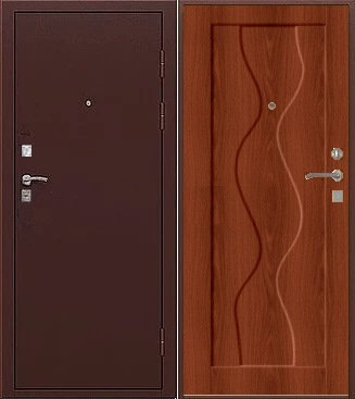 Входная стальная дверь ТЕХНО -01,4