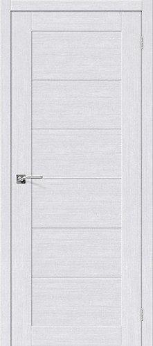 Межкомнатная дверь экошпон L-21 /Milk Oak