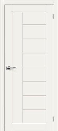 Межкомнатная дверь с покрытием 3D Б-29 /White Mix