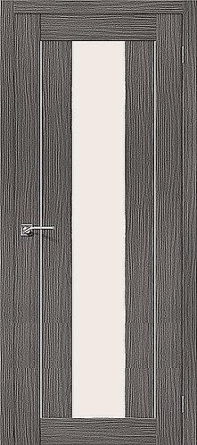 Межкомнатная дверь с покрытием 3D R-25 alu  / 3D Grey