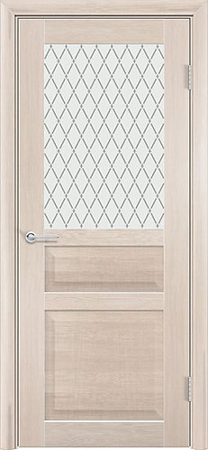 Межкомнатная дверь экошпон ST-23 ДО / Cappuccino Veralinga