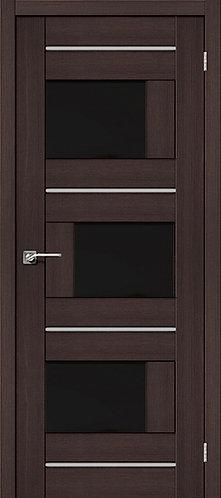 Межкомнатная дверь экошпон ST-3m Black / Wenge Veralinga