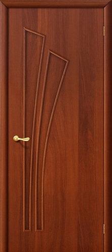 Ламинированная межкомнатная дверь Салют ДГ / итальянский орех