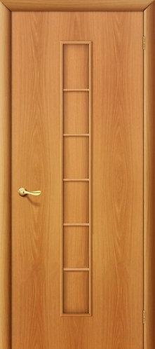 Ламинированная межкомнатная дверь Лесенка ДГ / миланский орех