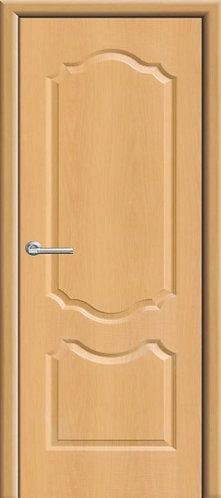 Межкомнатная дверь с покрытием ПВХ Анастасия ДГ / миланский орех