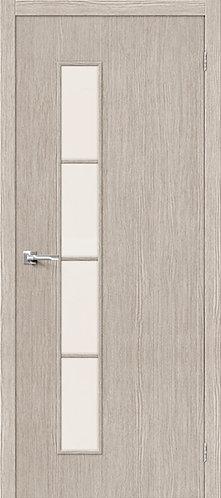 Межкомнатная дверь с покрытием 3D Т-4 / 3D Cappuccino