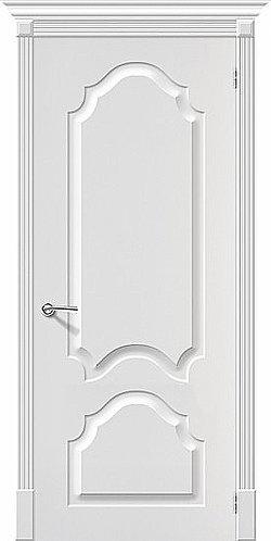 Межкомнатная дверь с покрытием ПВХ  Скинни-32 / белый