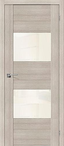 Межкомнатная дверь экошпон VG2 / Cappuccino Veralinga