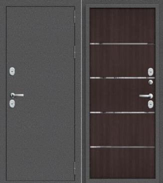 Входная дверь с терморазрывом ТЕРМО - 100 венге