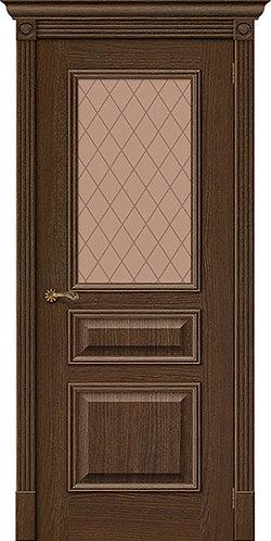 межкомнатная дверь натуральный шпон Вуд Классик-15.1/ Golden Oak