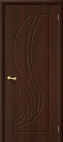 Межкомнатная дверь с покрытием ПВХ Лотос ДО / беленый дуб