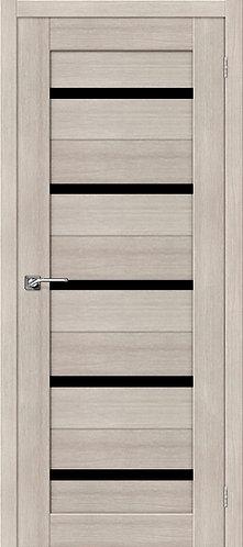 Межкомнатная дверь экошпон ST-1 Black / Cappuccino Veralinga