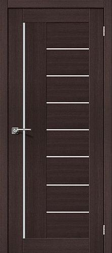 Межкомнатная дверь экошпон ST-9m / Wenge Veralinga