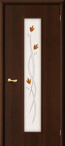 Ламинированная межкомнатная дверь Тиффани-2 / венге