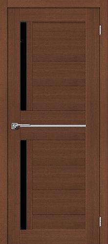 Межкомнатная дверь экошпон ST-5m Black / орех