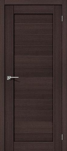 Межкомнатная дверь с покрытием 3D R-21 / 3D Wengе