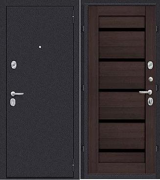 входная дверь Йошкар Ола Вектор (антик серебро темное/венге)