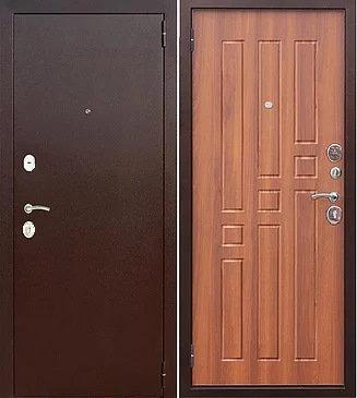 входная дверь Бриз (антик медь/американский дуб)