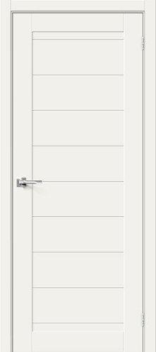 Межкомнатная дверь с покрытием 3D Б-21 /White Mix