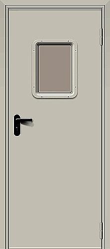 Дверь противопожарная ДПО-1