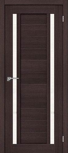 Межкомнатная дверь экошпон ST-6 / Wenge Veralinga