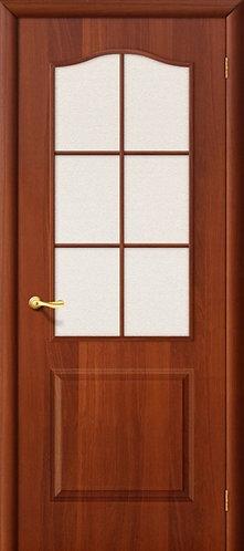 Ламинированная межкомнатная дверь Палитра ДО / итальянский орех