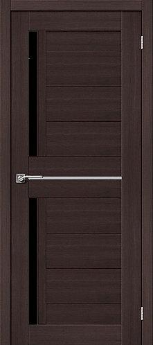 Межкомнатная дверь экошпон ST-5m Black / Wenge Veralinga