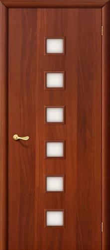Ламинированная межкомнатная дверь Комфорт ДО / итальянский орех