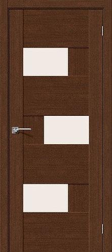 Межкомнатная дверь экошпон L-39 /Brown Oak