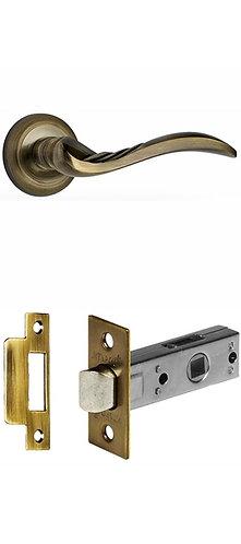 ручка дверная Пиза/бронза