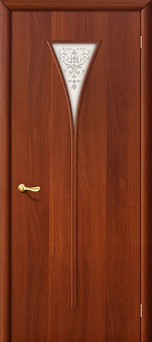 Ламинированная межкомнатная дверь Рюмка ДХ / итальянский орех