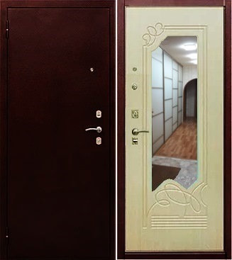 входная дверь Йошкар Ола Альт (антик медь/беленый дуб)