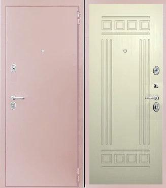 входная дверь КАСКАД (антик капучино/тиковое дерево)