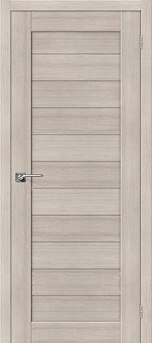 Межкомнатная дверь экошпон ST-4 / Cappuccino Veralinga
