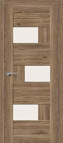 Межкомнатная дверь экошпон L-39 / Оригинальный дуб