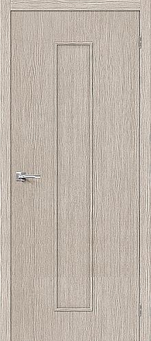 Межкомнатная дверь с покрытием 3D Т-13 / 3D Cappuccino